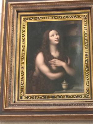 la Maddalena di Leonardo da Vinci (?)