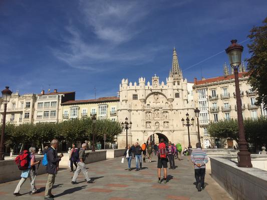 entrata nella Burgos medievale
