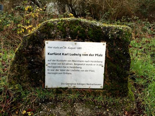 In Edingen am Neckar
