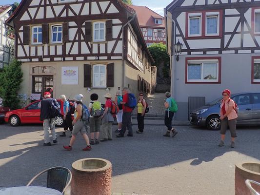 Marktplatz in Zwingenberg