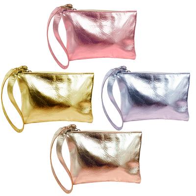 pochette Sofia borsa in varie misure argento, oro platino, oro giallo e oro rosa.Realizzata a mano da Mariarosaria Ferrara Ischia.