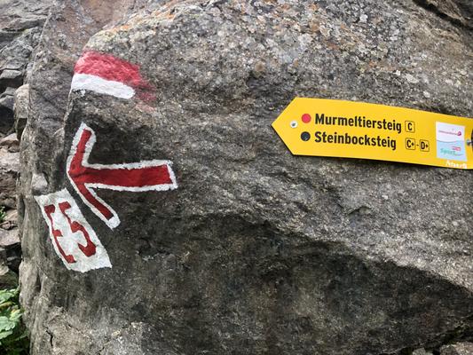 Alpenüberquerung E5 von Oberstdorf nach Meran, E5 Alpenüberquerung, Zu Fuß über die Alpen, Alpenüberquerung in Kleingruppen