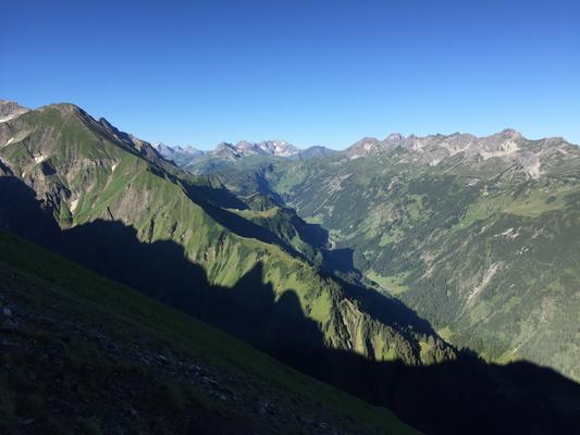 Trettach, Trettach besteigen, Topo Trettach, Routenfindung Trettach, Trettach Führung, Trettach mit Bergführer, Trettach klettern