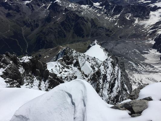 Ortler 3.309m, Ortler über Hintergrat, Ortler Hintergrat, Besteigung Ortler über Hintergrat, Ortler Hintergrathütte