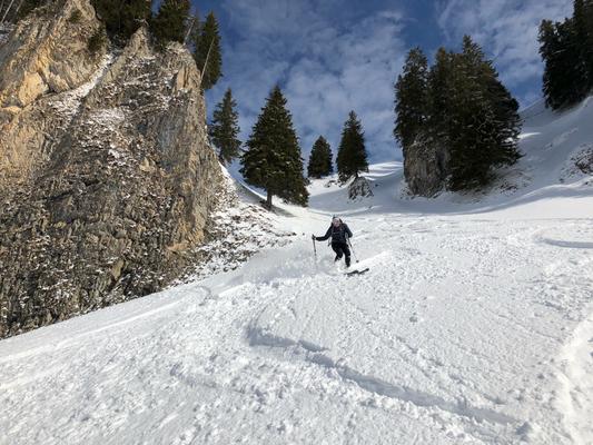 Rund um den Ifen, Skitour ifen, Freeride um den Ifen