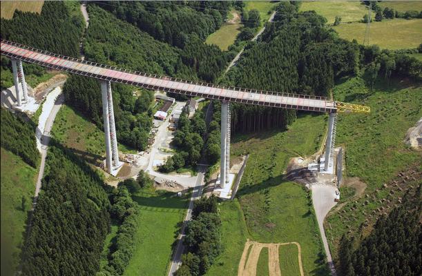 Talbrücke Nuttlar – die höchste Brücke in NRW