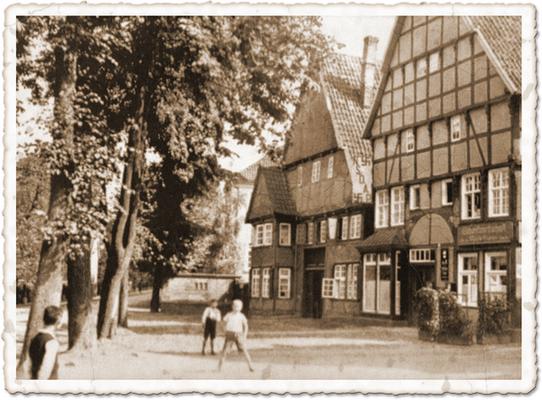 Gaststätte Neuhaus 1935, erbaut von Wilmans 1716