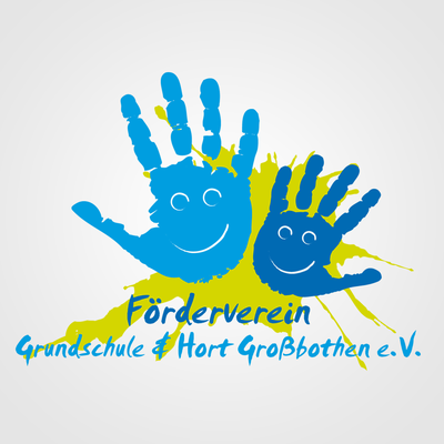 Logodesign Förderverein Grundschule und Hort Großbothen e.V.