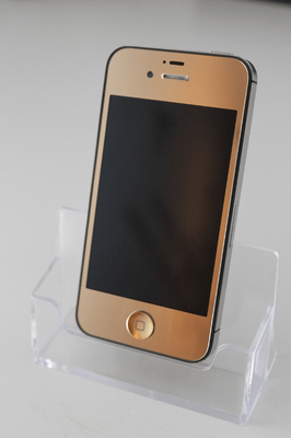 RM-Service Verl - iPhone 4s gold Frontseite