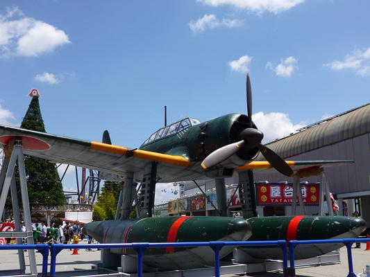 戦艦原寸大模型 W12800×H5040×L10840