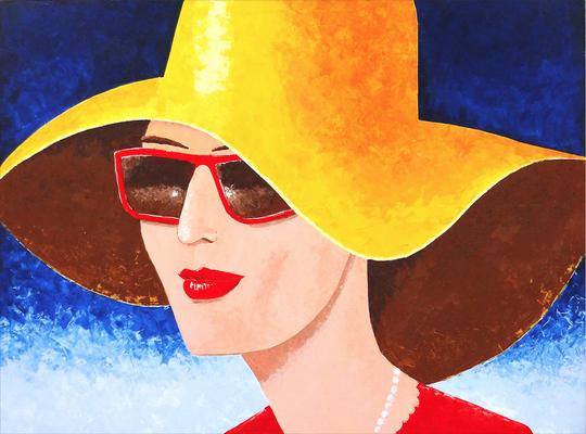 SummerTime, 160x120cm,  Acryl auf Leinwand, gespachtelt