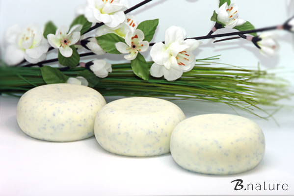 B.nature handcrafted Soap with Jojobabeads