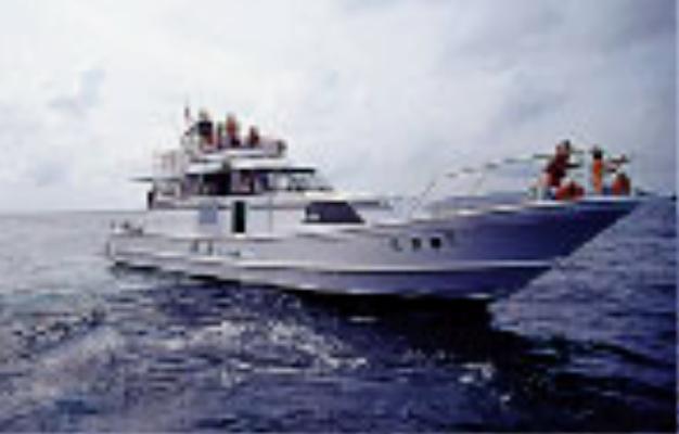 石垣島 ダイビングショップ 潜人(うりやーさー)第二幸徳丸 ダイビング船