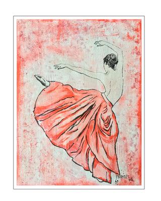 'Dance passion #3' Size: 60x80x2