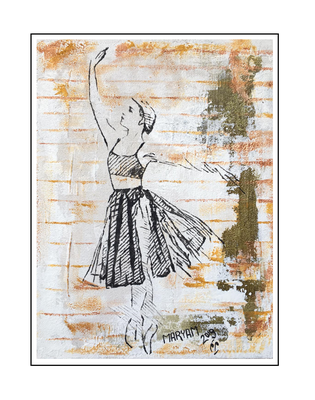 'Dance with me #8' Size: 60x80x2