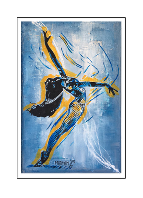 'Dance with me #9' Size: 77x117x3