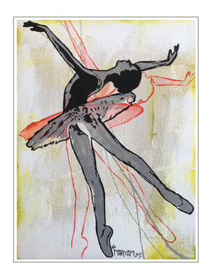 'Dance with me #7' Size: 60x80x2