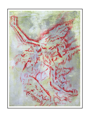 'Silence of passion #1' Formaat (bxhxd): 60x80x2