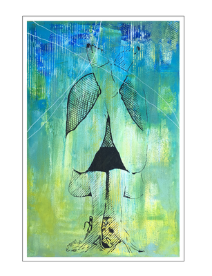 'Zen with me #10' Size: 75x115x2