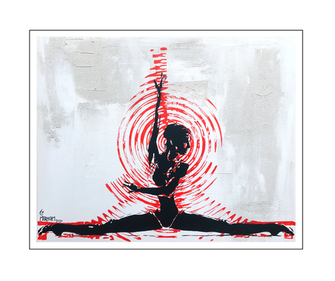 'Zen with me #17' Size: 100x80x2