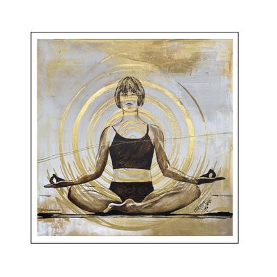 'Zen with me #22' Size: 100x100x2