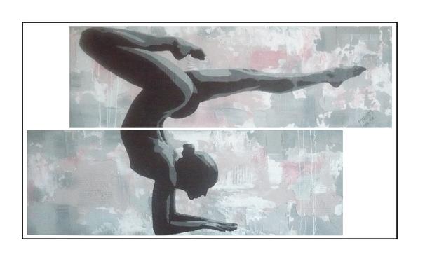 'Zen with me #2' Size: 136x80x4