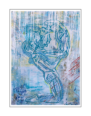 'Dance passion #8' Size: 60x80x2