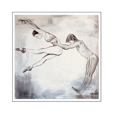 'Dance passion #10' Size: 140x140x2