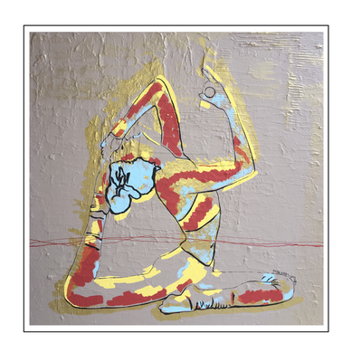 'Zen with me #14' Size: 100x100x4