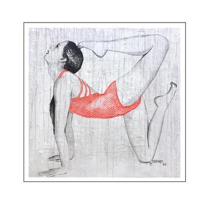 'Zen with me #16' Size: 100x100x4