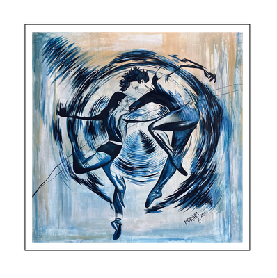 'Dance passion #11' Size: 140x140x2