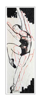 'Dance with me #4' Formaat (bxhxd): 40x120x2