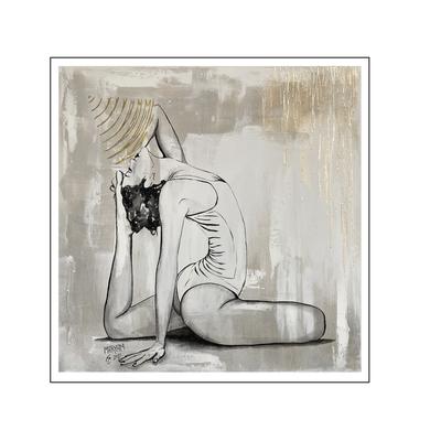 'Zen with me #21' Size: 100x100x2