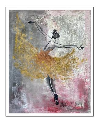'Dance passion #12' Size: 80x100x2