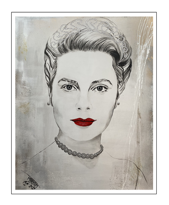 'First day with Grace Kelly' Size: 82x102x3