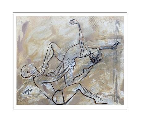 'Dance passion #13' Size: 60x50x2