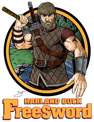 Fan art for Weldon Studio's Harland Buck series.  Go to www.weldonstudio.com for more information about this series.