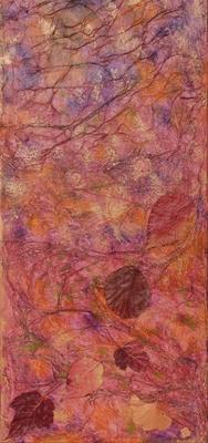fertig gestellt 2011 - Titel: Herbst - Format 30 x 70 cm - 110,00 €