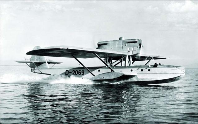 Dornier Do J Wal Erstflug: 06.11.1922