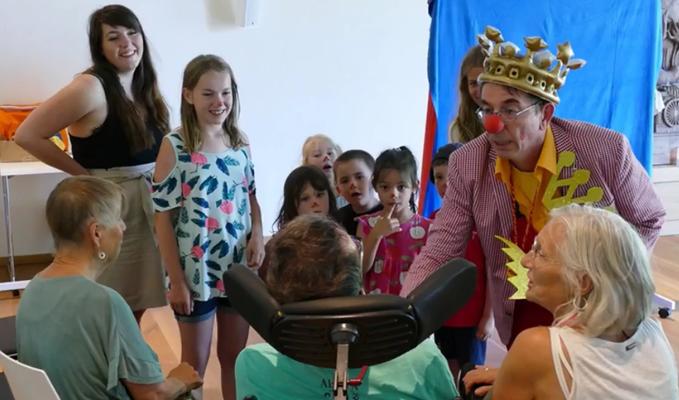 Kita-Kinder im Hospiz