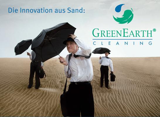Müden Reinigung GmbH® Leistungen A-Z, Greenerarth Männer im Sand, Wüste