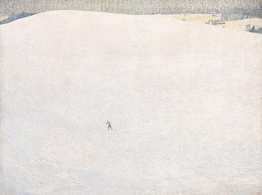 Der grosse Winter, 1904, Tempera auf Leinwand, Musée d'Orsey