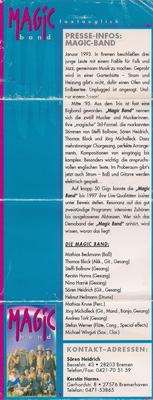 MagicBand Pressematerial