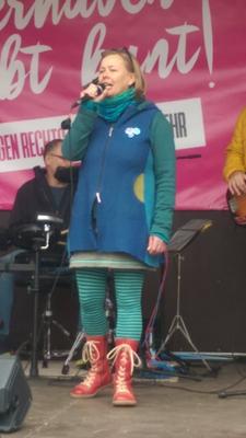 Andrea Türk Projekt - #BremerhavenBleibt Bunt - Demo gegen rechts - November 2018