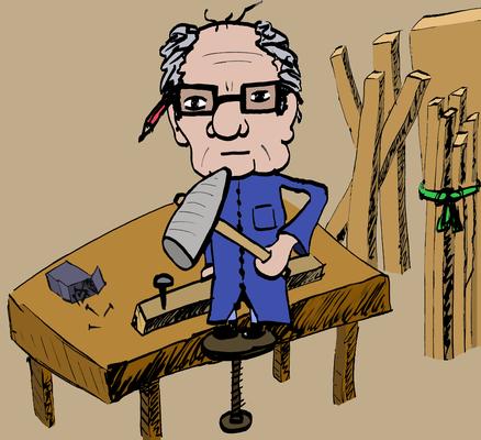 The Grandpa Story #002 workbench