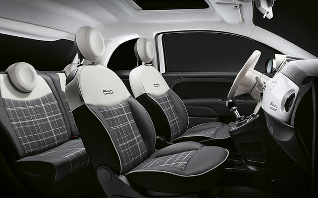 Individualität auch im Innenraum, der neue Fiat 500 bei Autohaus Strasser in Rosenheim