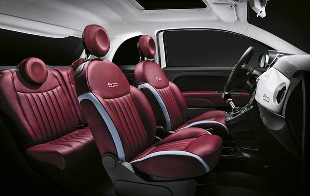 Fiat 500 reloaded Innenraum