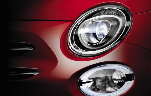 Wunderschöne Details beim neuen Fiat 500.
