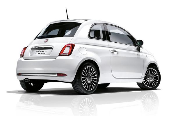 Fiat 500 reloaded Rückansicht