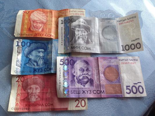 SOM die Währung in Kirgistan